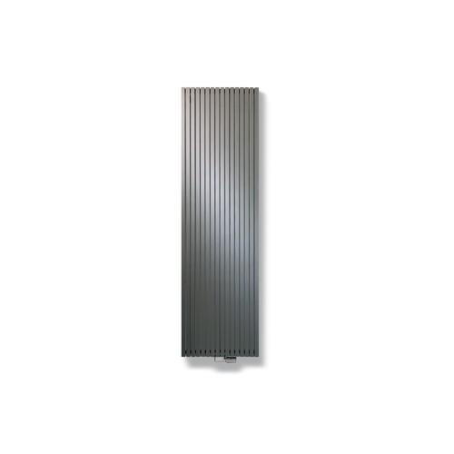 Vasco Carré CPVN2 designradiator verticaal dubbel 1800x595mm 2348W - aansluiting 1188 antraciet (M301) 1113605951800118803010000