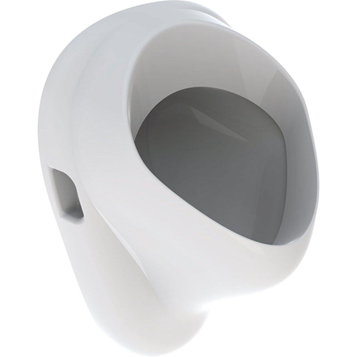Productafbeelding van Geberit E-Con urinoir met achterinlaat, afvoer naar achteren, wit