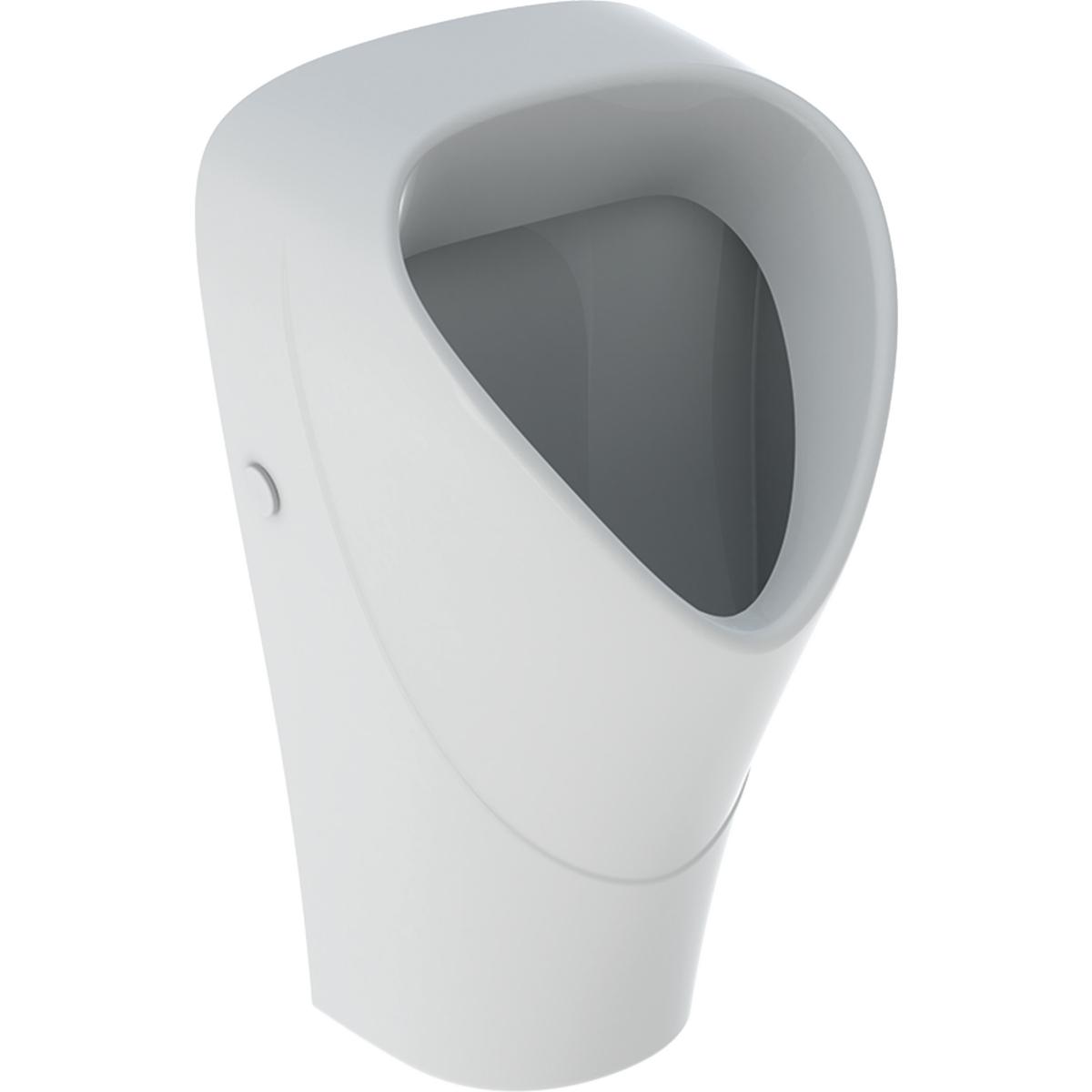 Productafbeelding van Geberit Renova urinoir aanvoer en afvoer verdekt, met KeraTect, wit