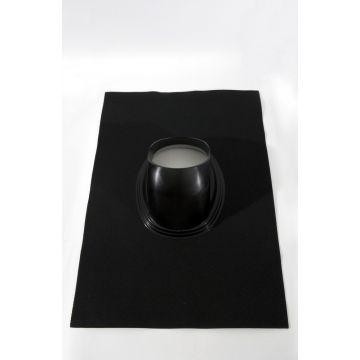 Ubbink doorvoerpan ubiflex 214mm 25-45° 700x1000 zwart