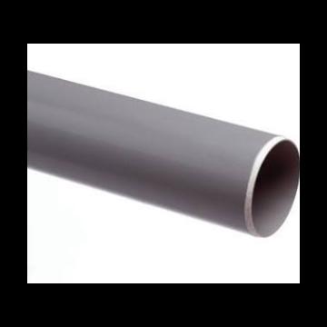 Wavin PVC buis dikwandig 110x103.6mm lengte=4m, prijs=per meter, grijs