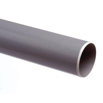 Wavin PVC buis dikwandig 32mm lengte=2m, prijs=per meter, grijs