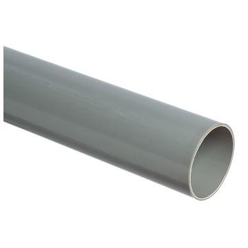 Wavin PVC buis dikwandig 40x34mm lengte=4m, prijs=per meter, grijs