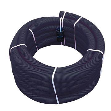 Wavin PVC mantelbuis flexibel 29 (28)mm rol=25m, prijs=per rol