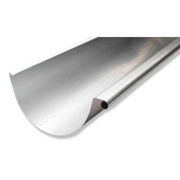 Rheinzink zinken mastgoot M44 dikte=0.80mm lengte=3m, prijs=per meter