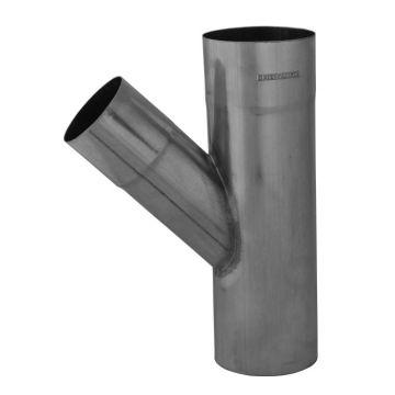 Rheinzink Walsblank fitting hemelwaterafvoerbuis T-stuk, zink, materiaal eigen