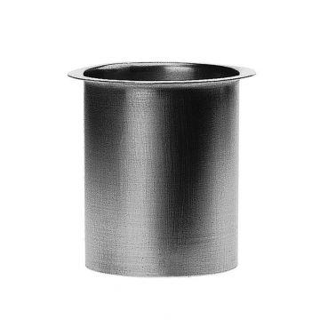 Rheinzink zinken tapeind, vlak (voor bakgoot) Ø100x300mm, dikte=0.80mm