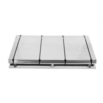 Rheinzink bladzink 14 225x100 dikte=0.80 plaat=13kg, prijs=per kg 0110001100