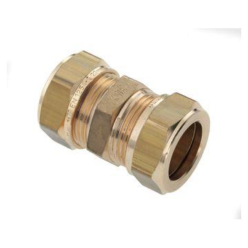 Bonfix knelkoppeling messing 22x22mm gastec/Kiwa