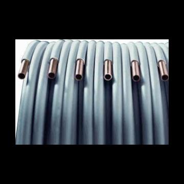 KME WiCu roodkoperen buis geïsoleerd (wicu) 15mm rol=25m, prijs=per rol