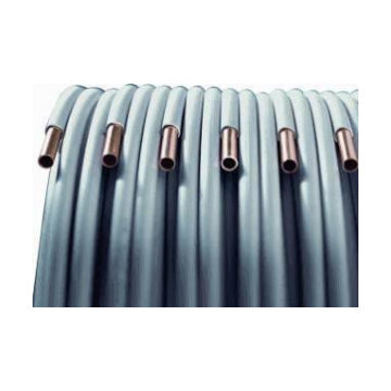 KME WiCu roodkoperen buis geïsoleerd (wicu) 22mm rol=25m, prijs=per rol