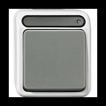 Schneider Electric Merten Aquastar controleschakelaar 1-polig/wissel MTN31068029