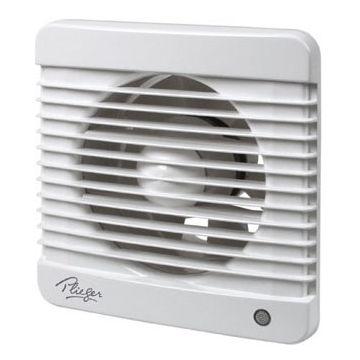 Plieger ventilator basic 98m³ Ø100mm wit