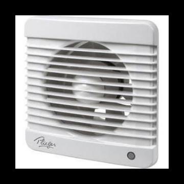 Plieger ventilator basic 98m³ Ø100mm met timer wit