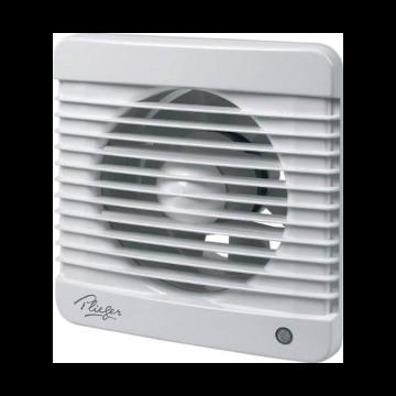 Plieger ventilator basic 185m³ Ø125mm met timer wit
