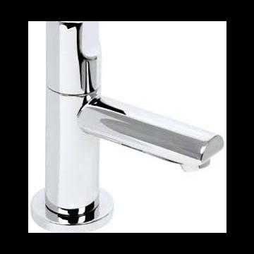 "Plieger Shape toiletkraan 1/2"" chroom"