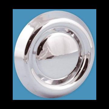 Nedco afzuigventiel afsluitbaar met veerstrip kunststof Ø100-125mm chroom 513008