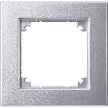 Schneider Electric Merten M-Smart afdekraam 1-voudig, aluminium