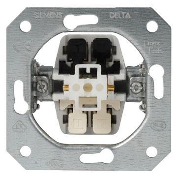 Siemens inbouwschakelaar 1-polig/wissel
