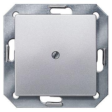 Siemens DELTA i-system blindplaat, aluminium metallic