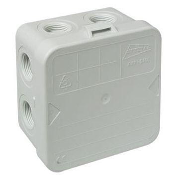 Attema kabeldoos IP40 zonder wartels M20 met barcodelabel