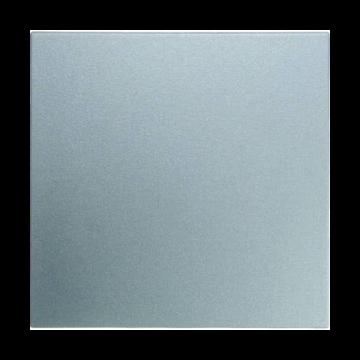 Hager berker B.1/B.3/B.7 wiptoets enkel, aluminium