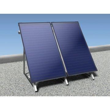 Nefit Solarline platdak verticaal 2-collector