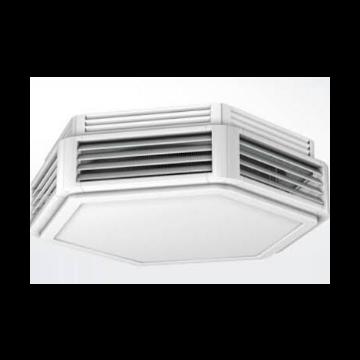 Kampmann Ultra luchtverwarmer indirect gestookt 230V 22,2 kW 2860 m3/h 852016 852016
