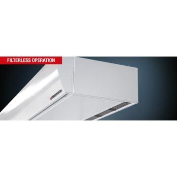 Teddington SMARTtec Premium luchtgordijn elektrisch max. deurhoogte 2,3 meter voorijh. model 400V 4/8/12 kW 1950 m3/h 1-1500E
