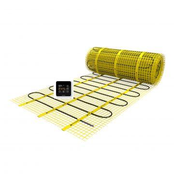 Magnum Mat elektrische vloerverwarming inclusief klokthermostaat 2.0m2 300W
