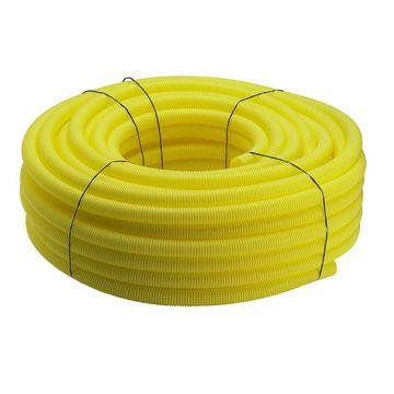 Viega Pexfit PE-mantelbuis voor Fosta-buis 16x25mm rol=50m, prijs=per meter geel