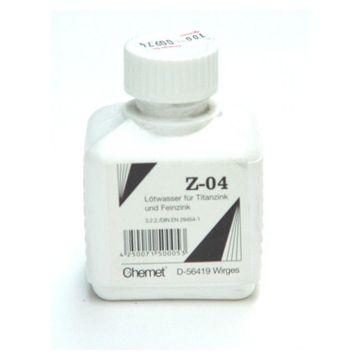 Wentzel soldeervloeistof voor zink Z-04 1L