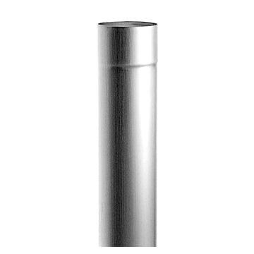 Rheinzink HWA-buis rond, hoogfrequent gelast Ø80x0,65x2000mm, prijs per meter
