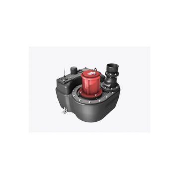 Kessel Aqualift F Mono opvoerinstallatie 50L met Comfort schakelaarunit voor voorije opstelling 1.1kW 230V SPF1400 S3 zonder persafsl. voor verticale persleiding