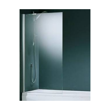 Novellini Aurora 5 badwand 1-delig 80x150cm mat chroom/helder AURORA5801B