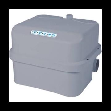 SFA Sanibroyeur Sanicubic opvoerinstallatie afvalwater tweepomps Sanicubic 2 Classic 557x517x405mm met geluids en visueel alarmsysteem wit 005206