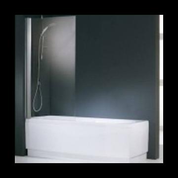 Novellini Aurora 1 badklapwand 1-delig 70x150cm wit/helder