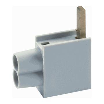 Eaton distributie-klemmenblok 55, 10mm², 1 pool, onderaansluiting