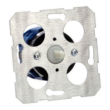 Kraus & Naimer drie-standenschakelaar kunststof/metaal, basiselement, drukknop