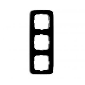 Busch-Jaeger Reflex SI afdekraam 3-voudig, zwart