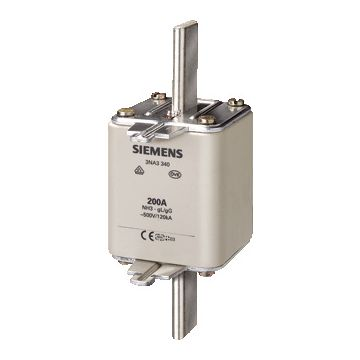 Siemens smeltp (mes) 3NA3 NH3, DIN-grootte NH3, nom. (meet)str 400A