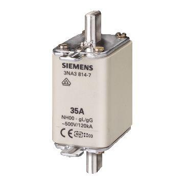 Siemens smeltp (mes) 3NA3 NH00, DIN-grootte NH00, nom. (meet)str 125A