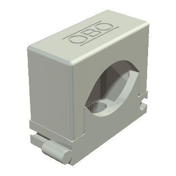 Obo drukzadel 2037, kunststof, grijs, diam 16-24mm, 1 kabels/buizen