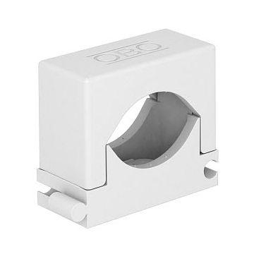 Obo drukzadel 2037, kunststof, wit, diam 12-20mm, 1 kabels/buizen