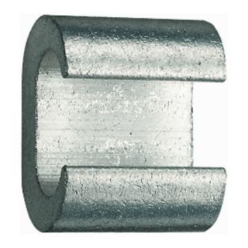 Klauke c-klem aarddraad CK, diam doorg 35mm², diam aftakgeleider 35mm²