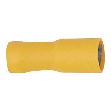 Klauke aderdoorverbinder rond/vlak huls 9, brons