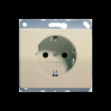 JUNG SL500 wandcontactdoos met. brons, uitvoering ra, 1 eenheid