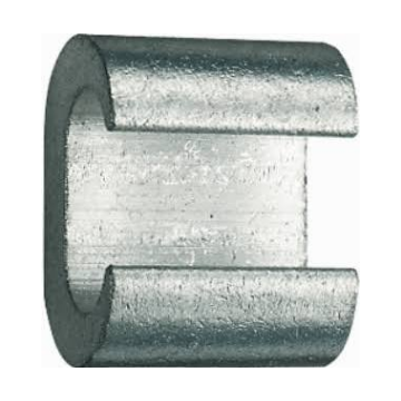 Klauke c-klem aarddraad CK, diam doorg 25mm², diam aftakgeleider 25mm²