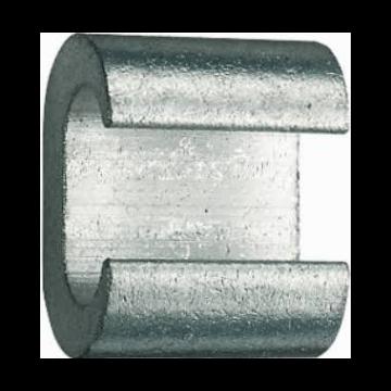 Klauke c-klem aarddraad CK, diam doorg 50mm², diam aftakgeleider 50mm²