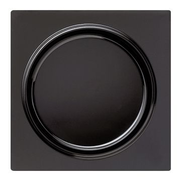 Gira S-Color universele kunststof bedieningswip, zwart